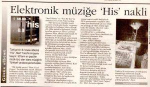 Mert Yücel - 16 Eylül 1999 Hürriyet Gazetesi