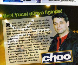 Mert Yücel - Tempo Dergisi 16 Nisan 2003 sayısı