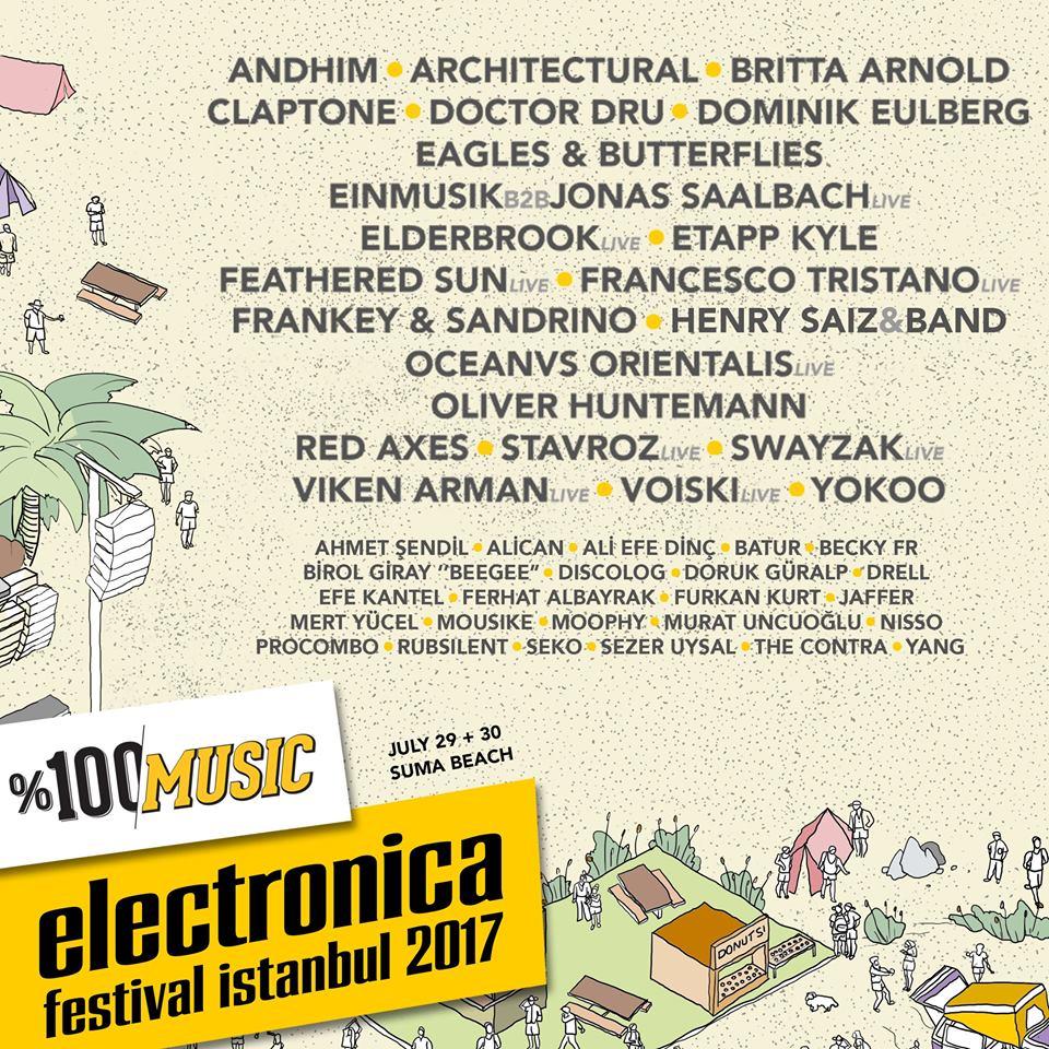 Mert Yücel @ Electronica Festival Istanbul 2017