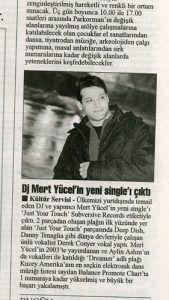 Mert Yücel - Cumhuriyet Gazetesi 19 nisan 2005