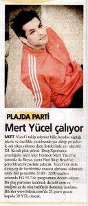 Mert Yücel - Akşam gazetesi 29 temmuz 2006 tarihli baskısı