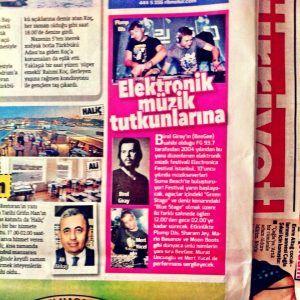 Mert Yücel - Hürriyet gazetesi 31 Ağustos 2013 baskısı