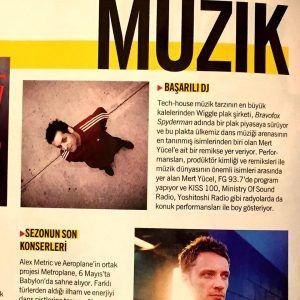Mert Yücel - Cosmopolitan dergisi Mayıs 2016 sayısı