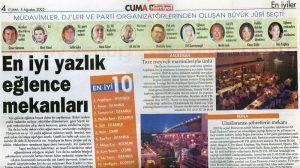 Mert Yücel Hürriyet gazetesi 5 ağustos 2005