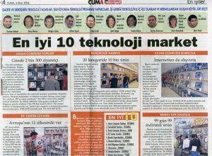 Mert Yücel - Hürriyet gazetesi 6 ekim 2006 tarihli baskısı