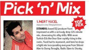 Mert Yücel - DJ Mag Dergisi Eylül 2008 sayısı