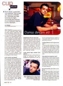 Mert Yücel - Aktüel dergisi 16 Ağustos 2004 sayısı
