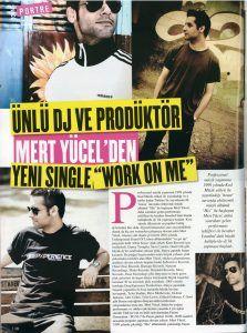 Mert Yücel - Alem Dergisi Aralık 2008 sayısı