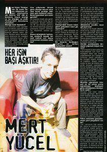 Mert Yücel - Kasım 1999 Blue Jean Dergisi