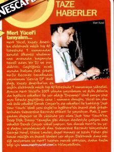 Cosmogirl dergisi haziran 2005 sayısı
