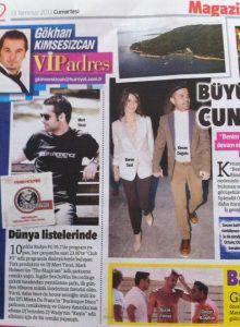 Mert Yücel - Hürriyet gazetesi 13 Temmuz 2013 baskısı