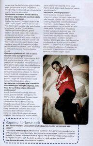 Mert Yücel - İstanbul Life dergisi aralık 2005 sayısı