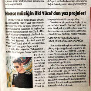 MERT YÜCEL - Aydınlık Gazetesi haberi - elektronik müzik dj