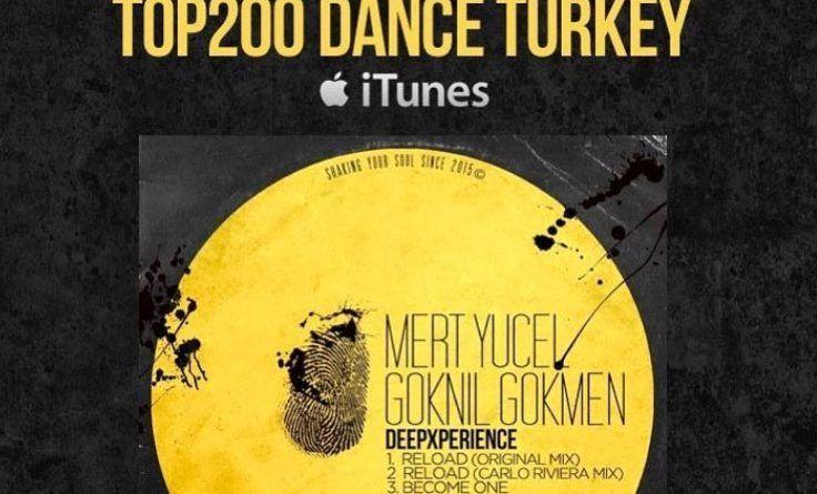 "Mert Yücel & Göknil Gökmen ""reload"" Itunes Top 200 Dans listesinde 83 numarada !"