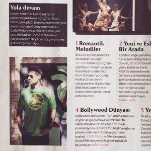 Mert Yucel'in Cosmopolitan haberi