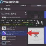 "Mert Yücel & Göknil Gökmen ""the way I see it "" Traxsource Deep House Top100 listesinde 4 numarada"
