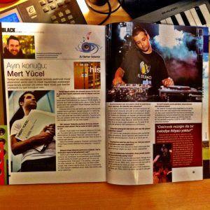 Mert Yücel - Black dergisi Temmuz 2014 sayısında yeralan röportaj