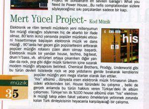Mert Yücel - Yerel Medya dergisi Aralık 1999 sayısı